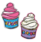 Cupcakes - 2 pack