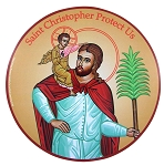 Saint Christopher Protect Us