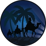 3 Kings Christmas Nativity Magnet