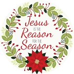 Jesus is the Reason for the Season Wreath