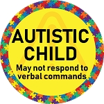 Autistic Child First Responded Warning